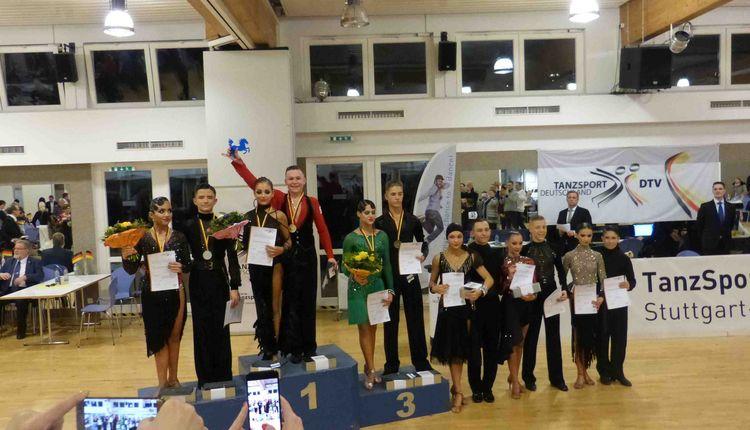 Deutsche Meisterschaften Junioren II B-Latein und Jugend A-Latein im TSZ